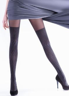 Buy Giulia Wilma 150 Fashion Tights for We are Earth's biggest hosiery store, we offer more sizes and colours for Giulia Wilma 150 Fashion Tights than any one else. Fashion Tights, Winter Warmers, Thigh Highs, Hosiery, Thighs, Stockings, Eye, Socks, Socks
