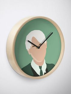 """""""Draco Malfoy"""" Clock by ind3finite 