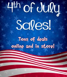 july 4th best sales