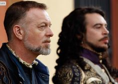 """@PopeJessica: """"#Musketeers 3 Make peace with her...... Treville & Louis - the best x"""""""