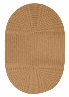 """Boca Raton Topaz Rug Rug Size: Oval Runner 2' x 7' by Colonial Mills. $79.00. BR32R024X084 Rug Size: Oval Runner 2' x 7' Features: -Technique: Braided.-Material: 100pct Polypropylene.-Origin: USA.-Reversible.-Stain resistant.-Fade resistant. Construction: -Construction: Hand guided. Dimensions: -Pile height: 0.5"""".-Overall Dimensions: 34-168'' Height x 22-132'' Width. Collection: -Collection: Boca Raton."""