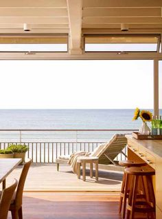 merican beach house with large windows - Google Search