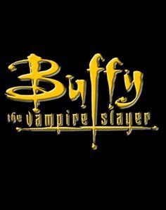 BUFFY THE VAMPIRE SLAYER Il logo dorato della serie