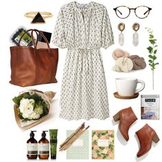 Springtime outfit - complete with flowers