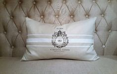 French Pillow French Grain Inspired Pillow Beautiful French