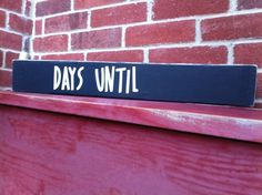 DoubleSided Chalkboard Painted Wood Sign