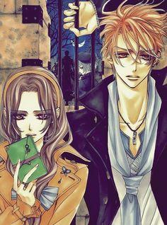 Ruka and Kain from Vampire Knight. love love love this couple. :)