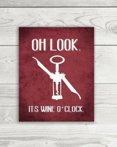 It's winetowine o'clock