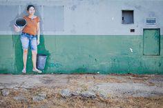 Fotógrafo conta o drama dos moradores da Boa Esperança em fotos espalhadas pela cidade.