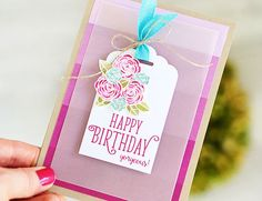 Louise Sharp: Happy Birthday Gorgeous - Stampin' Up! Birthday Diy, Happy Birthday Cards, Card Making Inspiration, Making Ideas, Happy Birthday Gorgeous, Stampin Up Catalog, Beautiful Handmade Cards, Birthday Balloons, Flower Cards