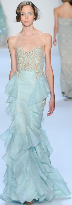 SPRING 2014 RTW Badgley Mischka look40