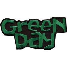 Green Day Logo Rock Band Patch CDP0618 by Preegle on Etsy, $3.98