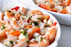 This Greek baked shrimp with feta cheese recipe is a quick, easy, and healthy Greek dish that is bound to please your family.