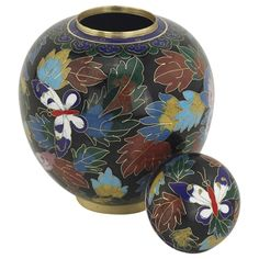 Butterfly Cloisonne Medium Urn   Cremation Urn for Ashes Medium from www.stardust-memorials.com