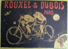 Vintage Bicycle Posters: Rouxel et Dubois Paris, via Flickr.