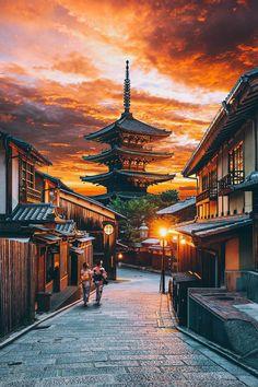Kyoto, Japan by Jacob Riglin