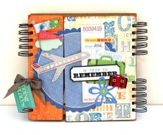"""""""A Trip to Remember"""" mini album by Renee Foss and Liz Qualman for Little Yellow Bicycle"""