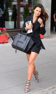ANNA LEWANDOWSKA_1PUBL Lewandowski, Tv Presenters, Luxury Bags, Hermes Birkin, Capsule Wardrobe, Cool Outfits, Anna, Actresses, Celebrities