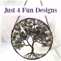 Just 4 Fun Design is a great little Etsy shop specializing in Tree of Life pendants. Shop owner Dawn writes: The Tree of Life symbolizes different qualities and virtues like wisdom, strength, prot…