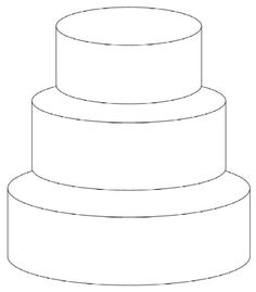 3-Tier Off-Set Front View requested by freddyfl6, 8, 10 inch tiers