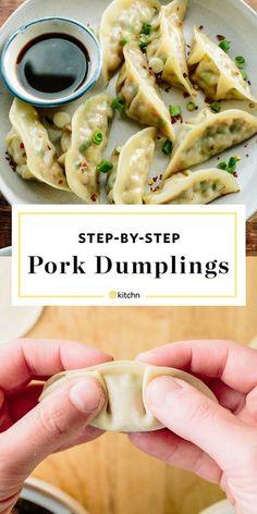 How To Make Pork Dumplings | Kitchn