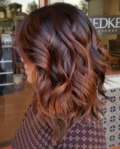 balayage for dark hair best of idee de coupe de cheveux coiffure mi long femme coiffure of balayage for dark hair Red Brown Hair, Brown Hair Colors, Dark Hair, Dark Brown, Copper Hair Colors, Brown Auburn Hair, Auburn Balayage, Hair Color Balayage, Brown Balayage