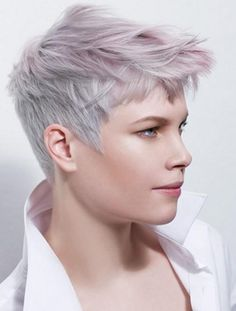 Kinda cool, wonder if real hair would do that/be that color, or if its only something achieved with CG More More