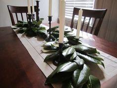 magnolia leaves.