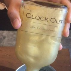 These shimmer cocktails from @theclockoutbkk are like galaxies in a glass. #bkbites #bkbitesandblends