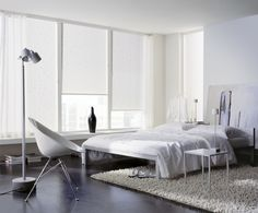 Schlaufenschal wohnzimmer ~ Vorhang wohnen garten schlaufenschal mit rollo kombinieren