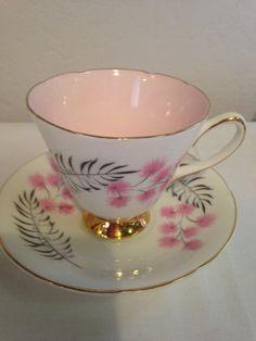 EST 1846 Old Royal Bone China Teacup And Saucer Set England