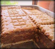 Γλυκο ψυγειου με νουτελλα Greek Sweets, Greek Desserts, Greek Recipes, Easy Desserts, Nutella Recipes, Chocolate Recipes, Cake Recipes, Dessert Recipes, Greek Cake