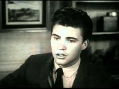 End of year in 1958 Ricky Nelson's newest song 'Lonesome Town' was a very popular song playing on the radio.