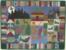 Northwoods Cabin Quilt Pattern