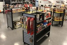 Morris 4x4 center showroom with #jeep parts