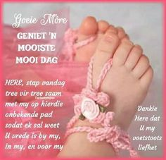 Goeie More, Afrikaans Quotes, Good Morning Quotes, Crochet Necklace, Poems, Gallery, Roof Rack, Poetry, Verses