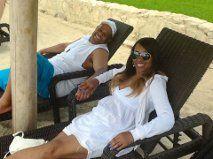 Jan & Me In Paradise