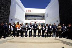 Inaugura UAEH obras en beneficio de su alumnado