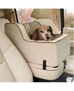 Luxury High Back Console Pet Car Seat