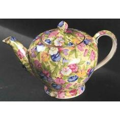 Royal Winton Sweet Pea Teapot