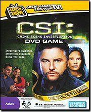 CSI Dvd Game - List price: $20.99 Price: $6.50 + Free Shipping