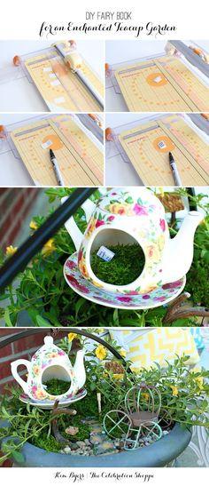 Create an enchanted fairy garden in minutes   @kimbyers  @joann_stores #fairygarden