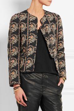 Étoile Isabel Marant | Elmer reversible floral-print quilted cotton jacket | NET-A-PORTER.COM