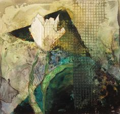 Another white tulip  - Judy Thorley - Mixed Media Artist .........#GT