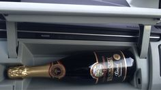 The Toyota Prius Comes With A Built-In Champagne Holder