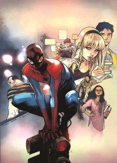ArtVerso — Olivier Coipel - Spider-Man