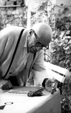 Picasso et le crapaud | Lucien Clergue | 1968