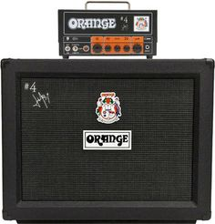 Orange Signature 4 Jim Root Terror Head and PPC212 Cab Package.