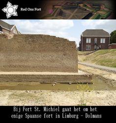 Bij Fort St. Michiel gaat het om het enige Spaanse fort in Limburg - Dolmans