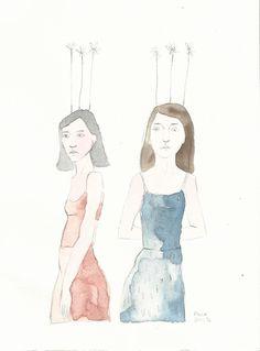 ( Watercolor Print  IX )    17x23 cm     20€